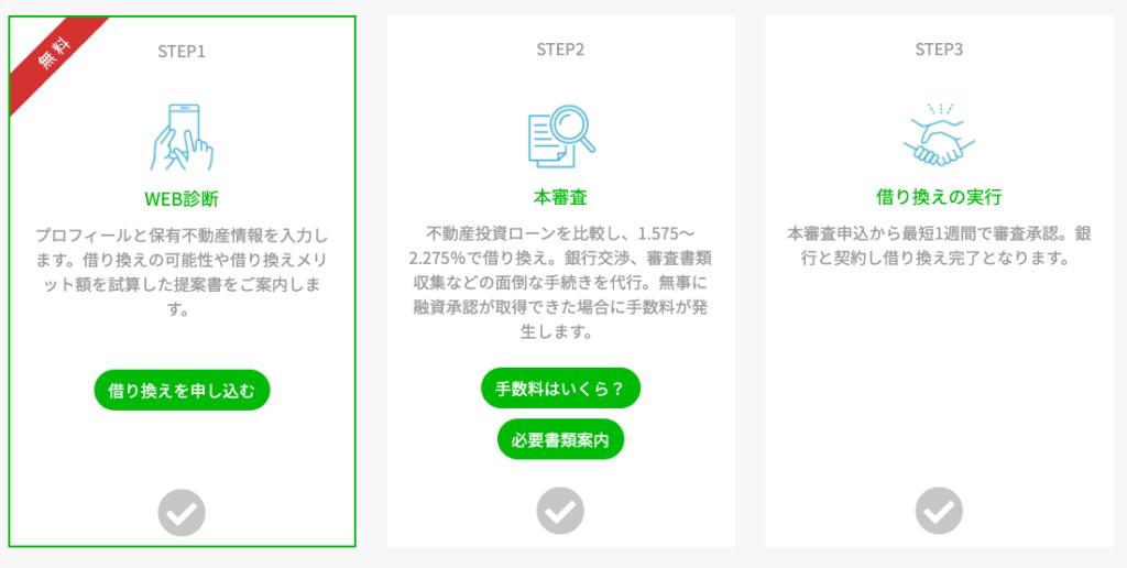 かんたん無料Web診断!オンライン完結で借り換えメリット額を瞬時にご提案