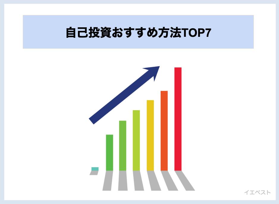 自己投資おすすめ方法TOP7