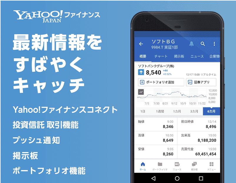 3-2.Yahoo!ファイナンスアプリ